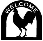 chicken Customized Welcome Sign