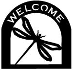 dragon fly Customized Welcome Sign