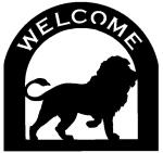 lion Customized Welcome SignCustomized Welcome Sign