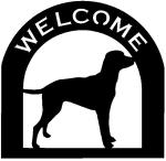 retriever Customized Welcome Sign