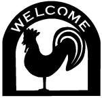 rooster Customized Welcome Sign